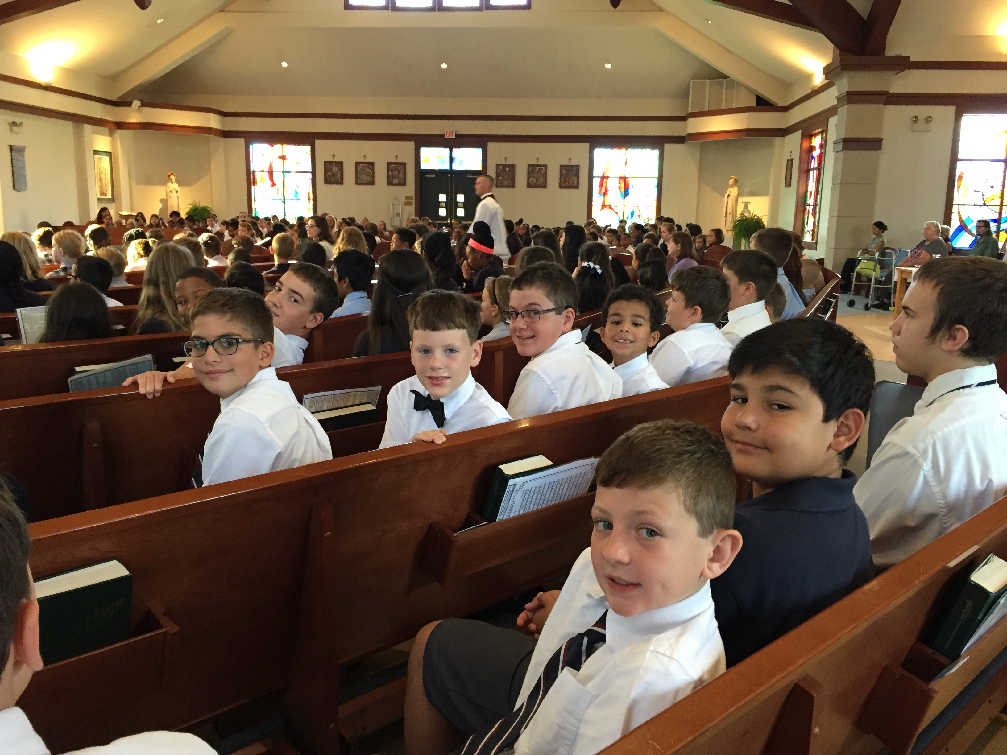 Boys-at-Mass